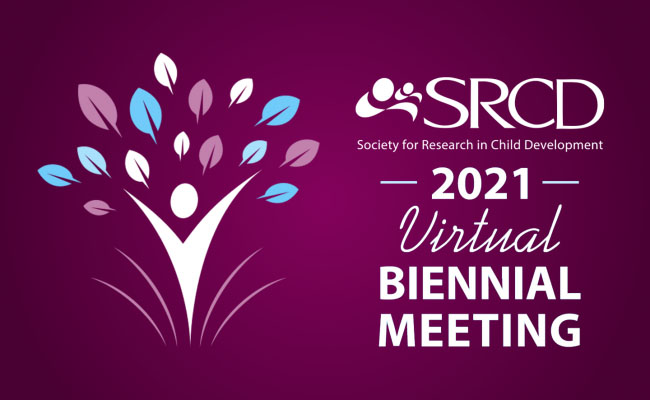 Society for Research in Child Development conference logo